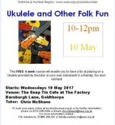 Free Ukulele Course starting on 10th May.