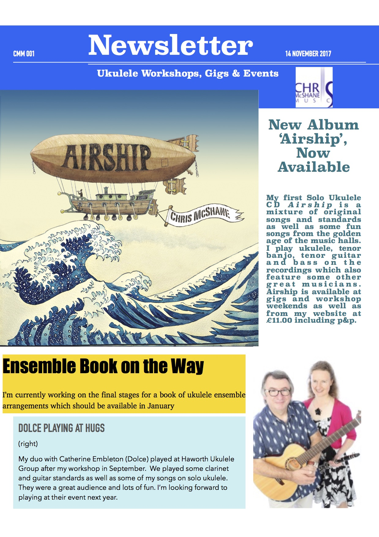 Airship has been launched !
