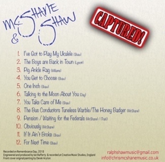 McShane & Shaw Captured! CD